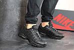 Мужские кроссовки Nike 95 (черные), фото 5