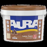 "Декоративно-защитное средство ТМ ""Aura"" Lasur Aqua (белая) - 0,07 л."