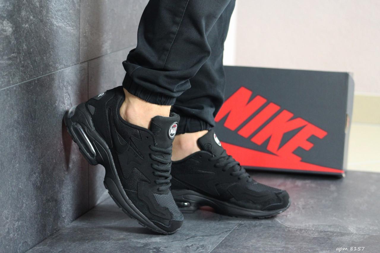 Чоловічі кросівки Nike Air Max 2 (чорні)