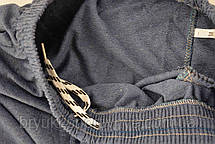 Брюки спортивные мужские под манжет - трикотаж в новом модном цвете парламент S - XXL Штаны спортивные - бренд, фото 3