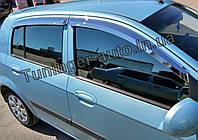 Ветровики, дефлекторы окон Hyundai Getz 2002-2011 (Autoclover/Корея), фото 1