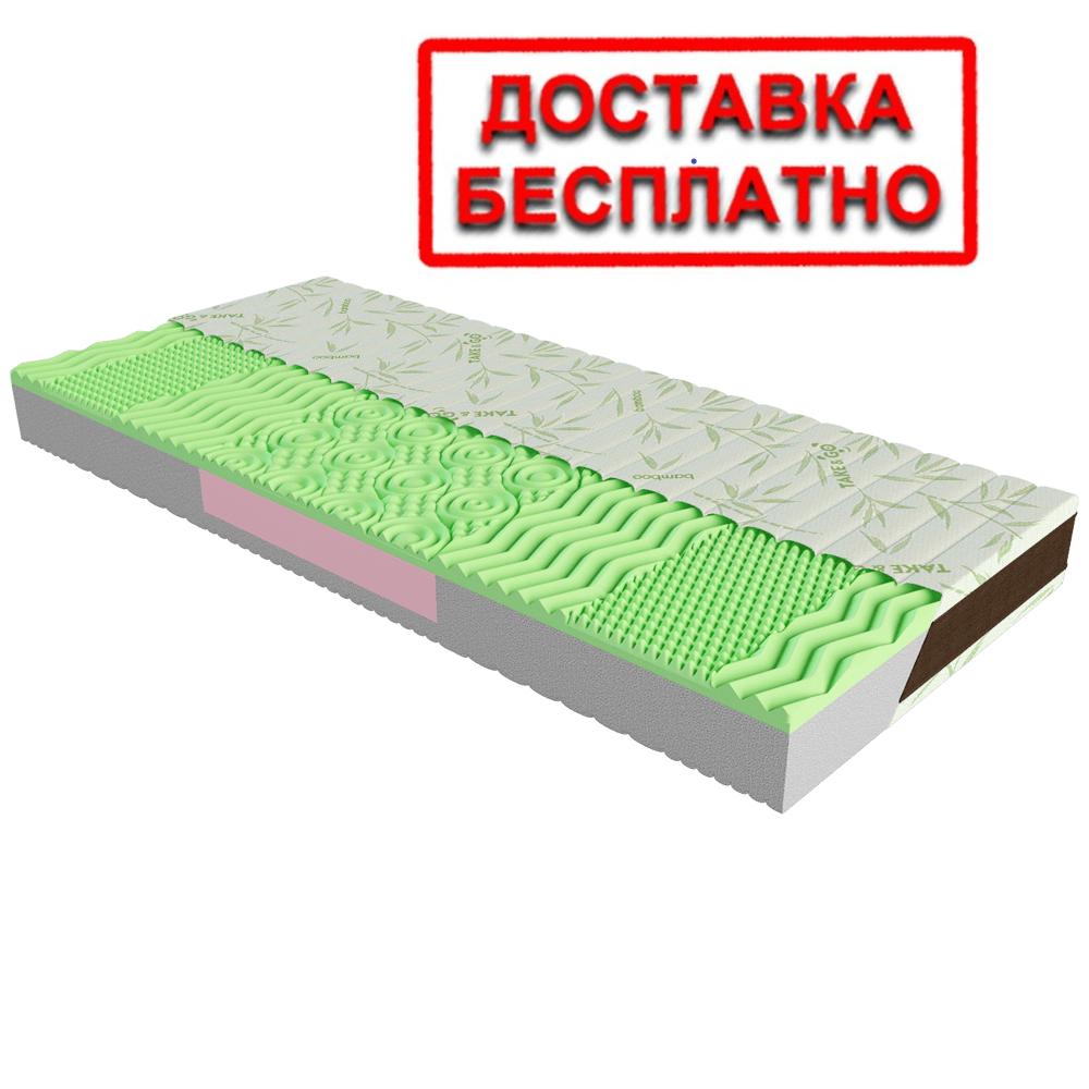 Матрас ортопедический Neo Green/Нео Грин  Take&Go Bamboo ТМ ЕММ
