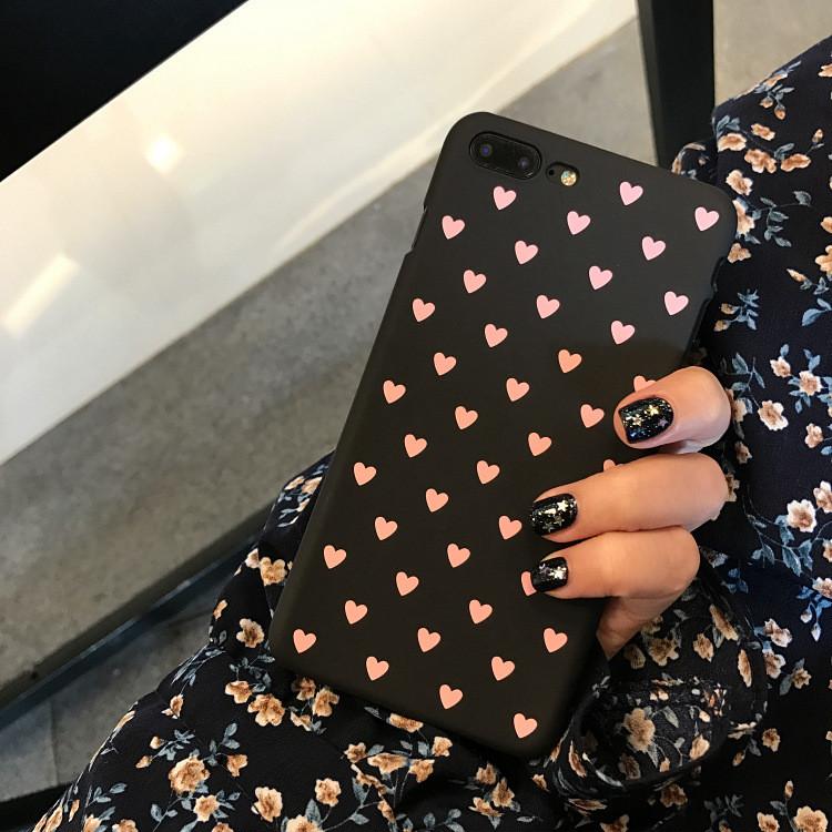 Чехол Case Cover Pink Hearts для Apple IPhone 7/8