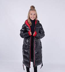 Зимние пуховики, куртки, пальто для девочек