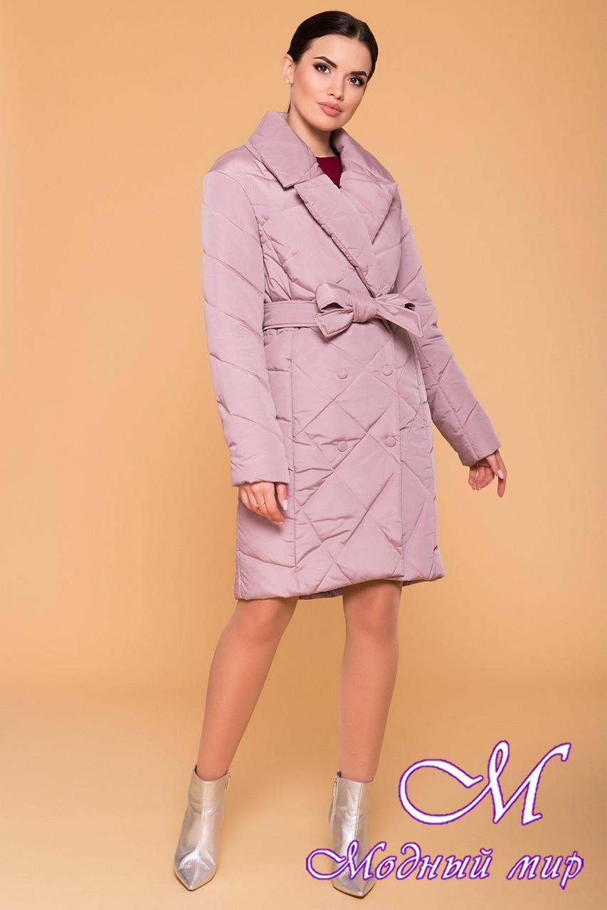 Женское демисезонное стеганное пальто (р. S, M, L) арт. Сандра 4440 - 21319