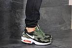 Чоловічі кросівки Nike Air Max 2 (зелено-чорні), фото 3