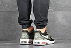 Чоловічі кросівки Nike Air Max 2 (зелено-чорні), фото 4