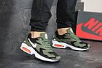 Чоловічі кросівки Nike Air Max 2 (зелено-чорні), фото 5