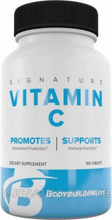 Витамин C Bodybuilding Signature Vitamin C 180 таб., фото 2