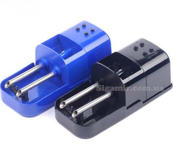 Машинка Для Сигарет Двойная Электрическая