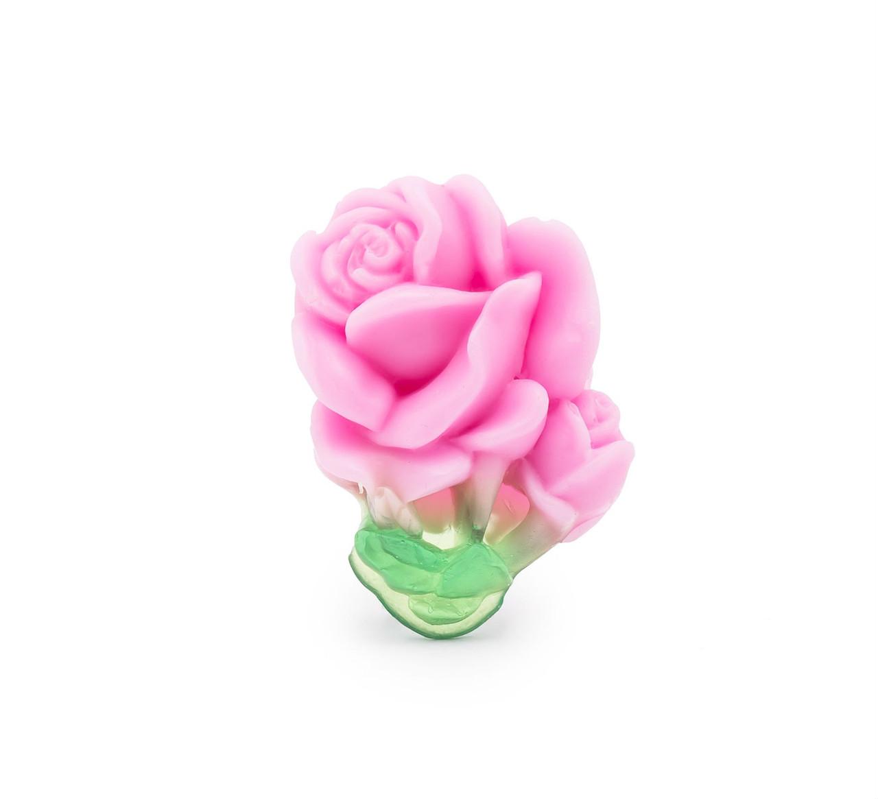 Глицериновое мыло ручной работы ''Роза Болгарии'' 40 гр.