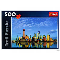 Пазлы Trefl 500 Шанхай