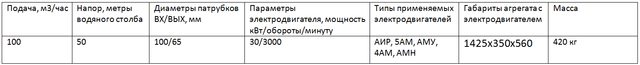 насос 2СМ100-65-200/2
