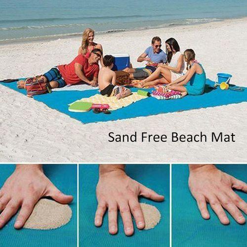 Купить Пляжные коврики, Пляжное покрывало анти-песок 200 х 200 см, пляжный коврик Анти Песок