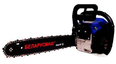 Бензопила Беларусмаш 6700 пл.пуск,метал.стартер+1 шина 1 цепь + фильтр  праймер