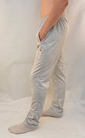 Брюки спортивные мужские трикотажные в сером цвете  S - XXL Штаны спортивные повседневные - бренд