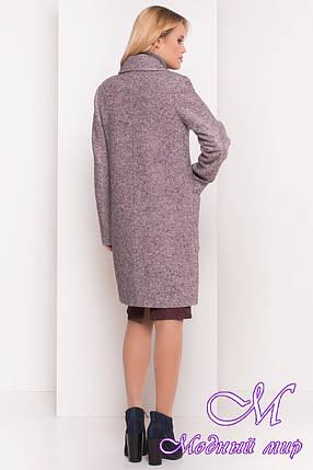 Женское демисезонное пальто шерсть (р. S, M, L) арт. Милена 5273 - 37589, фото 2