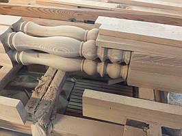 Балясины деревянные для перил и лестниц