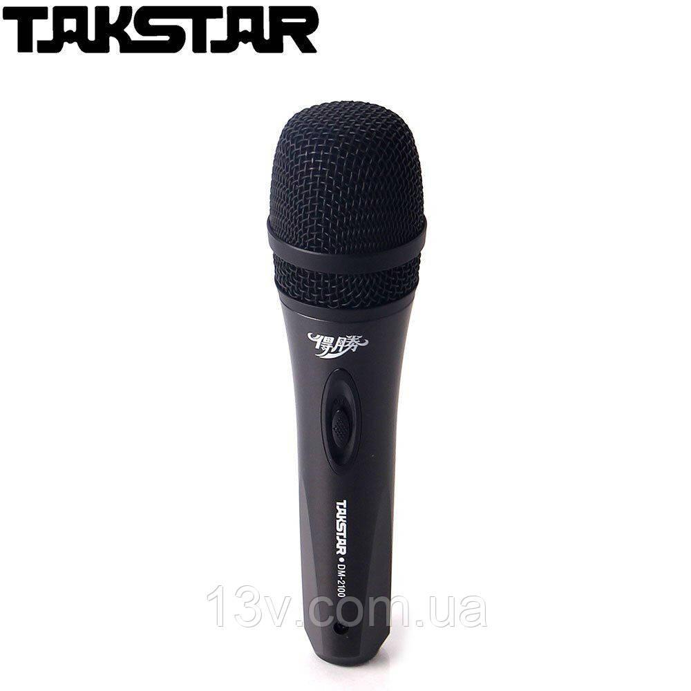 DM2100 Такстар Вокальний мікрофон провідний