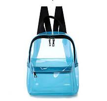 Плотный матовый силиконовый рюкзак для модных девушек, фото 3