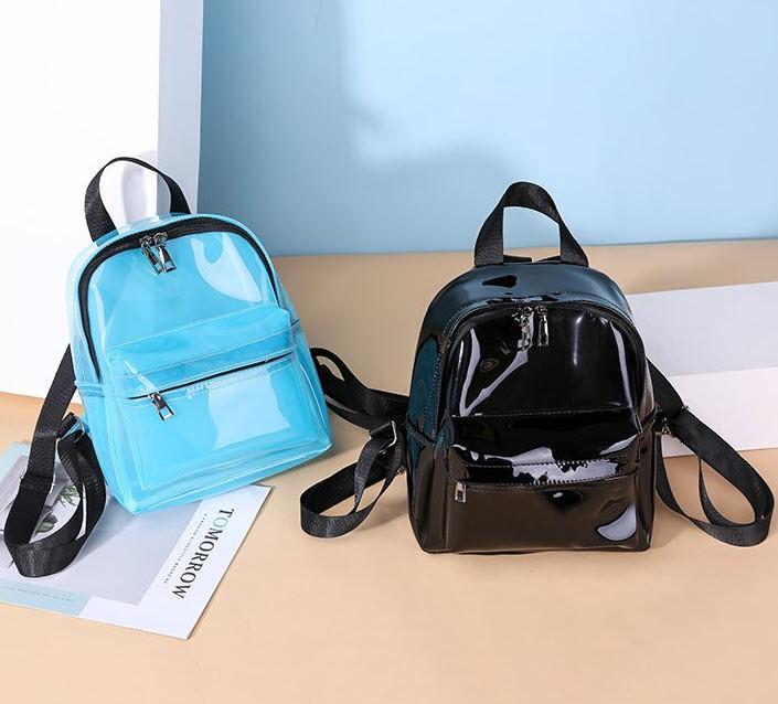 Плотный матовый силиконовый рюкзак для модных девушек