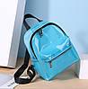 Плотный матовый силиконовый рюкзак для модных девушек, фото 6