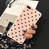 Чехол Case Cover Black Hearts для Apple IPhone 7 Plus/8Plus, фото 1