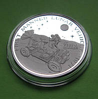Маршалловы о-ва 50 долларов 1989 г. Космос. Запуск первого лунохода в 1971 году., фото 1