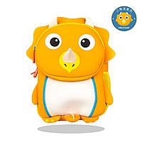 Рюкзак детский Трицератопс оранжевый, фото 1