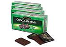Шоколадные пластинки с мятной начинкой Maitre Truffout, 200г., фото 4