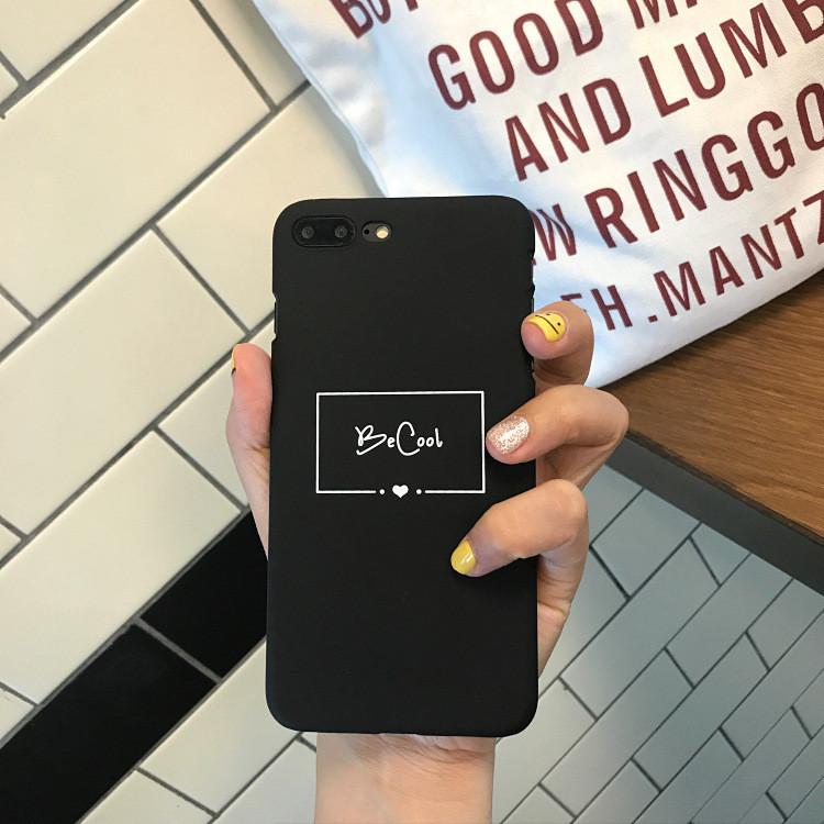 Чехол Case Title Be Cool / Будь Крут для Apple IPhone X