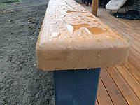 Перила деревянные для лестниц, террас из Лиственницы Сибирской