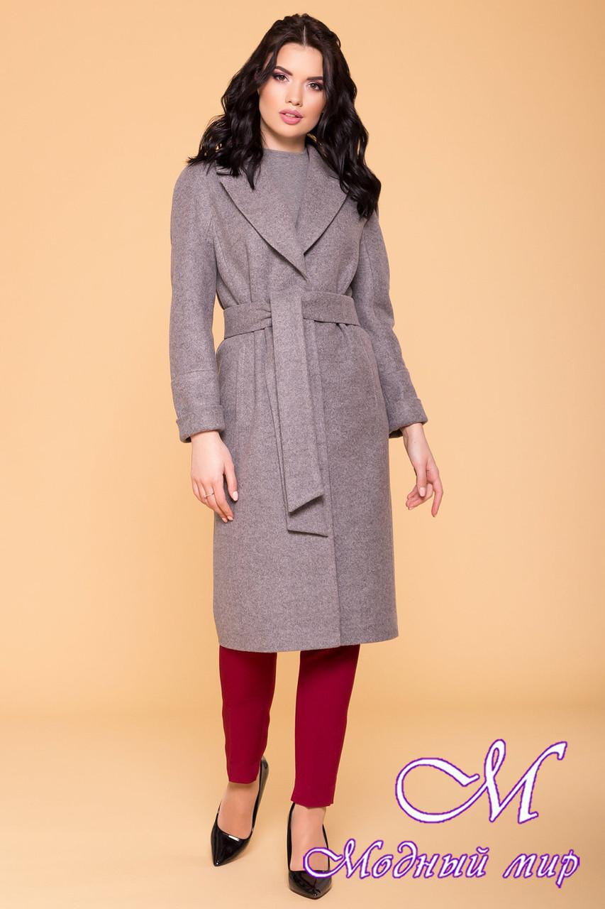 Женское демисезонное пальто в серых оттенках (р. S, M, L) арт. Верди 6205 - 41156