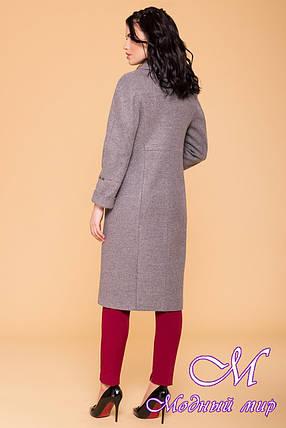 Женское демисезонное пальто в серых оттенках (р. S, M, L) арт. Верди 6205 - 41156, фото 2