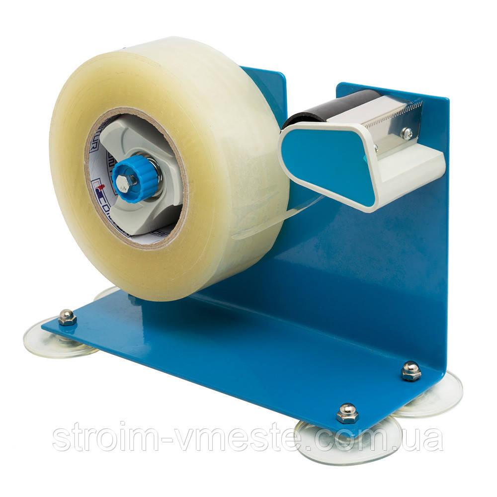 Диспенсер для скотча металлический Rubin на присосках 40-48 мм