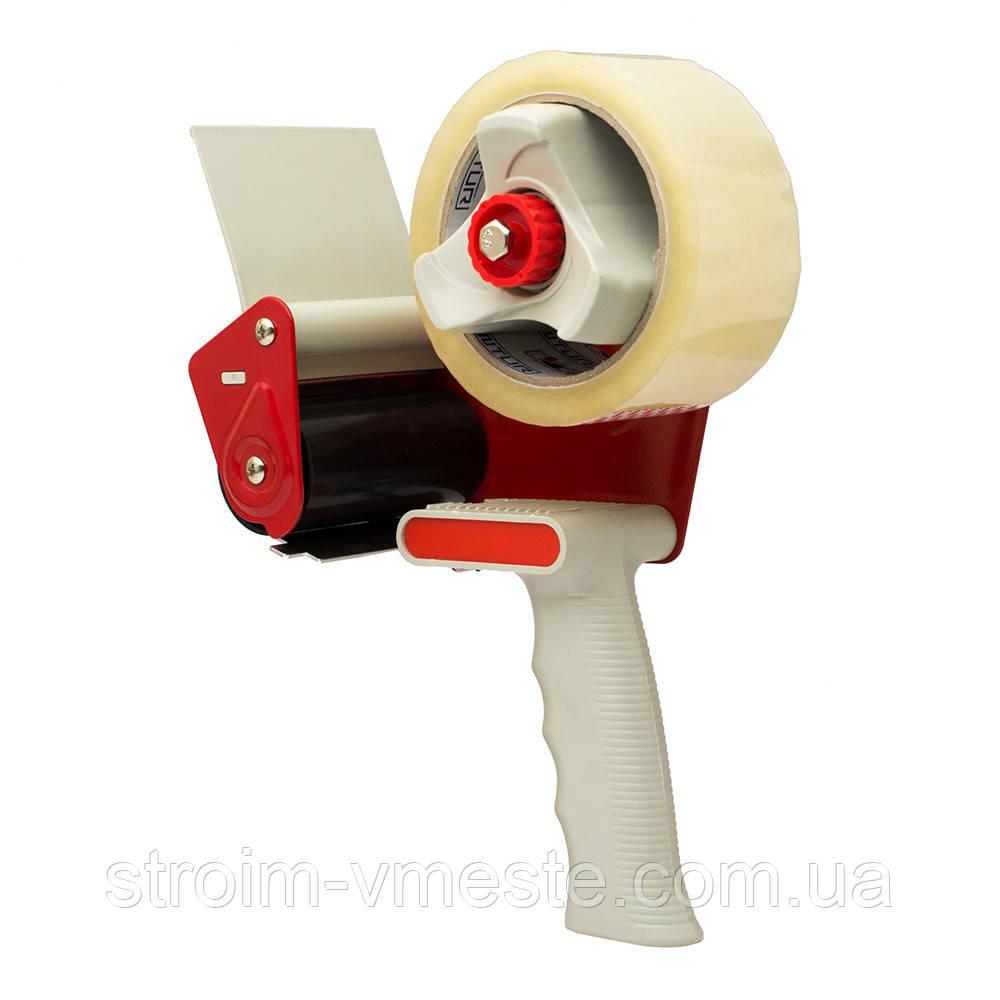Диспенсер для скотча Rubin 72-75 мм из пластмассы и металла