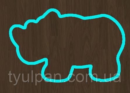 Вырубка кондитерская для пряника мастики марципана Носорог