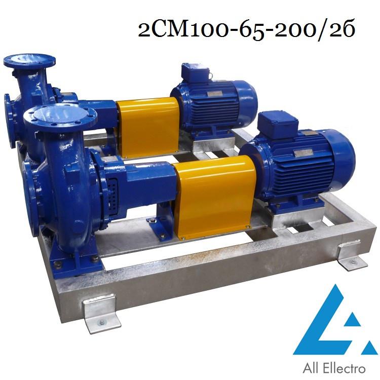 Насос 2СМ100-65-200/2б (насос 2СМ 100-65-200/2б)