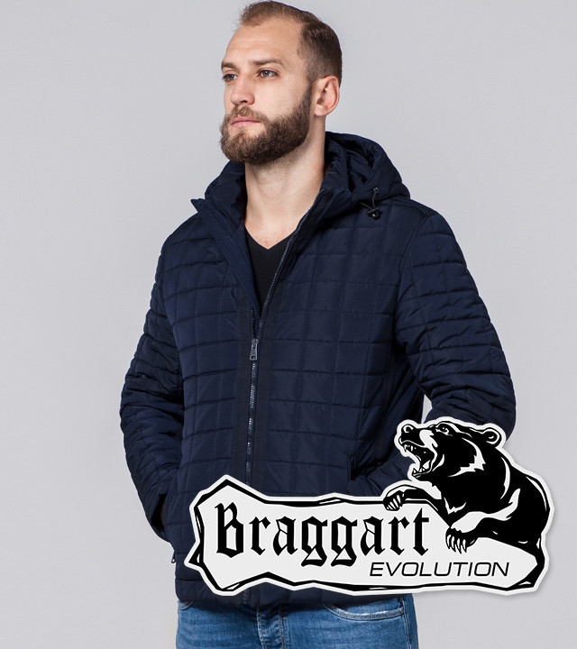 Braggart Evolution 2475   Мужская куртка т.синяя р. 46