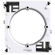 Коробка для наружного монтажа одинарная Asfora (белый)
