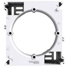 Коробка для наружного монтажа наборная Asfora (белый)