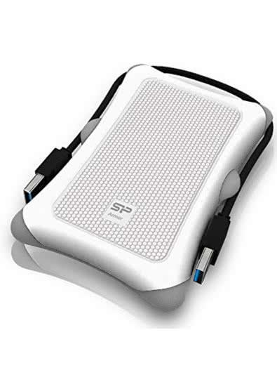 """Внешний карман для HDD 2.5"""" USB 3.0 Silicon Power Armor A30 White SP000HSPHDA30S3W карман для винчестера винта жесткого диска, зовнішній карман корпус"""