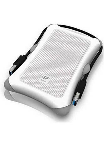 """Внешний карман для HDD 2.5"""" USB 3.0 Silicon Power Armor A30 White SP000HSPHDA30S3W карман для винчестера винта жесткого диска, зовнішній карман корпус, фото 2"""