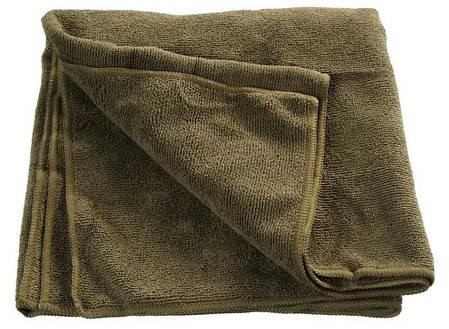 Дорожное полотенце из микрофибры 100х50 см MilTec Olive 16011101, фото 2