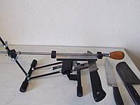 Точилка для ножей и ножниц с поворотным зажимом Apex pro.