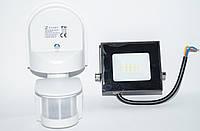 Прожектор 10W с датчиком движения ZL8001