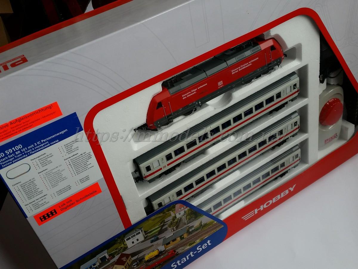 Piko 59100 Детская Железная дорога - cтартовый набор пассажирский поезд