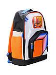 Рюкзак Upixel Model Answer, Оранжево-белый, фото 2