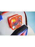 Рюкзак Upixel Model Answer, Оранжево-белый, фото 5