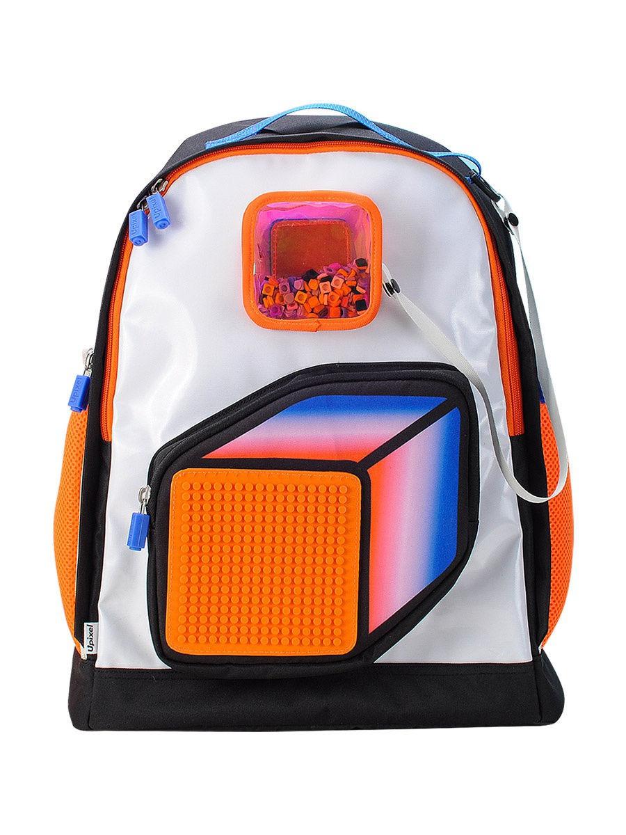 Рюкзак Upixel Model Answer, Оранжево-белый